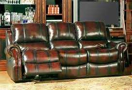 elegant power recliner sofa with ashley 4240147 leather power