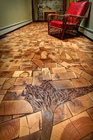 save the ends of your timber to create gorgeous end grain floors