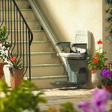 Lift Chair For Stairs The Outdoor Stairlift From Stannah Stannah Stairlifts Usa