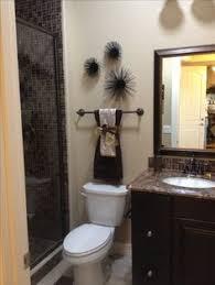 Decorative Bathrooms Ideas I Love This Bathroom Idea Apartment Savvy Pinterest