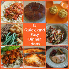 Dinner Easy Ideas 15 Quick And Easy Dinners For Busy Nights Happy Home Fairy