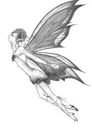 fairy drawings flying fairy by 0marietje0 on deviantart