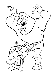 cartoon coloring pages cubbi and igthorn gummi bears cartoon coloring pages for kids