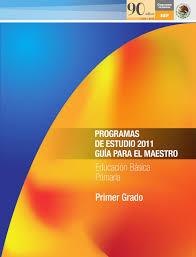 plan de estudios 2011 primaria 1er grado by subdireción de