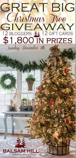 gift card tree balsam hill christmas tree gift card giveaway unskinny boppy