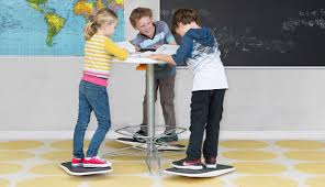 there u0027s a standing desk and balance board for kids now