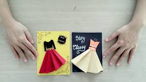 handmade cards easy lovely handmade cards for women s day