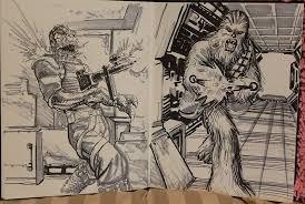 scott kolins convention sketches keith dallas u0027s original comic