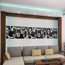 Dekoration Wohnzimmer Diy 3d Diy Spiegel Wandaufkleber Spiegel Dekoration Glänzende Acryl