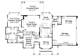 Unique House Plans With Open Floor Plans Open Concept Cottage House Plans