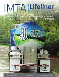 2015 Lifeliner Magazine Issue 1 By Iowa Motor Truck Association