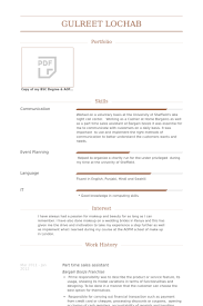 How To Write A Resume For Part Time Job by Sales Assistant Resume Samples Visualcv Resume Samples Database