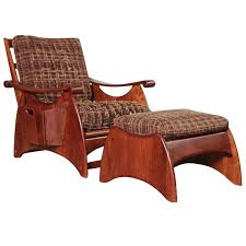Recliner With Ottoman Gilbert Rohde Art Deco Wakefield Reclining Chair And Ottoman