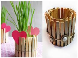do it yourself home projects clothespin flower pot u2013 you can do it yourself find fun art