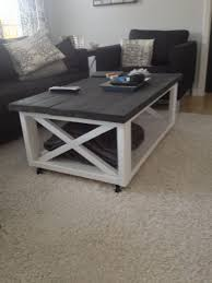 white farmhouse coffee table coffee table ana white rustic x coffee table diyrojectslans