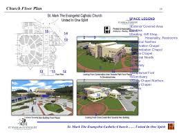 Catholic Church Floor Plans St Mark The Evangelist Catholic Church Architectural Presentation