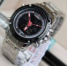 Jam Tangan Alba Digital jam tangan terbaru navirorce digital stainless steel toko grosir murah