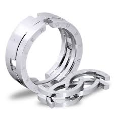 titanium mens rings deformed personality titanium steel men s rings evermarker