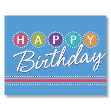 Birthday Card Birthday Lights Birthday Card For Employees Clients And Vendors