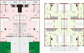 row home plans uncategorized row house plans within trendy two story row house