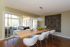 Crystal Dining Room Beauteous Contemporary Crystal Dining Room - Chandeliers for dining room contemporary