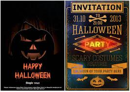 halloween party flyer templates free vector halloween invitation imags u2013 fun for halloween
