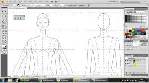 pattern drawing illustrator how to draw technical flats for fashion part 1 youtube