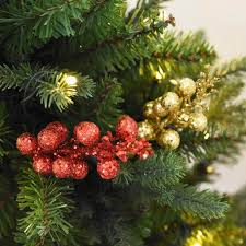 online get cheap christmas berry tree aliexpress com alibaba group new diy sparkle fruit imitation berry christmas tree hanging decorations for home accessories wedding supplies