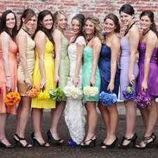 colored bridesmaid dresses bridesmaid dresses by color 10 best colors for 2012