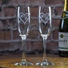 engraved wedding gifts wedding chagne toasting flutes glasses engraved bridal party gifts