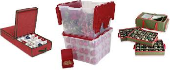 Christmas Decoration Storage Containers by Christmas Ornament Storage Boxes And Containers