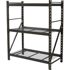 Wire Shelving Lowes by Decorating Edsal Shelving Metal Shelves Home Depot Edsal Lowes