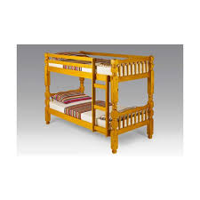 Pine Bunk Bed Chunky Pine Bunk Bed