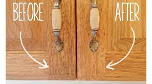 how to clean wood kitchen cabinets how to clean grimy kitchen cabinets with 2 ingredients
