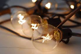 Globe Patio String Lights by 20ct G40 Cafe Globe Light Set 19ft Brown Cord End To End Ul Listed