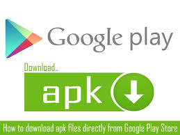 play apk apk files from play store to pc android