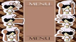 Restaurant Menu Covers Restaurant Menu Card Design Vector Youtube
