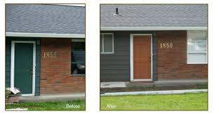 exterior paint colors for orange brick house home painting