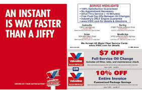 valvoline light bulb replacement coupon valvoline oil change coupon