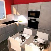 nobilia cuisine avis cuisine bicolor laque gris minéral brillant et gris décor béton