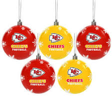 kansas city chiefs decorations gift bags ornaments
