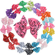 wholesale hairbows wholesale boutique hair bows for women cheap 20 color 3 inch