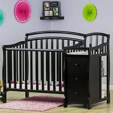 mini crib and changing table crib changing table combo
