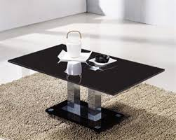 cheap black glass coffee table large black rectangular glass coffee table homegenies