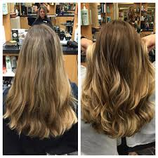 body wave perm hairstyle before and after on short hair hair services joelle s salon