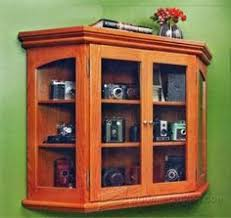 Mission Style Curio Cabinet Plans Amish Small Mission Corner Curio Cabinet Small Corner Crockery