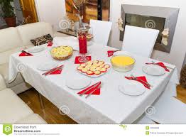 table dinner white christmas dinner table stock image image of healthy fresh