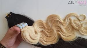 what is the best tap in hair extensions brand names hands on review best invisible tape in hair extensions youtube