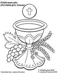 communion coloring pages eson me