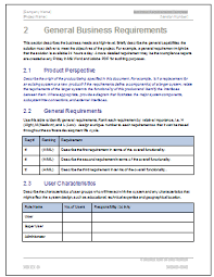 Requirements Template Excel Business Requirements Template Tristarhomecareinc